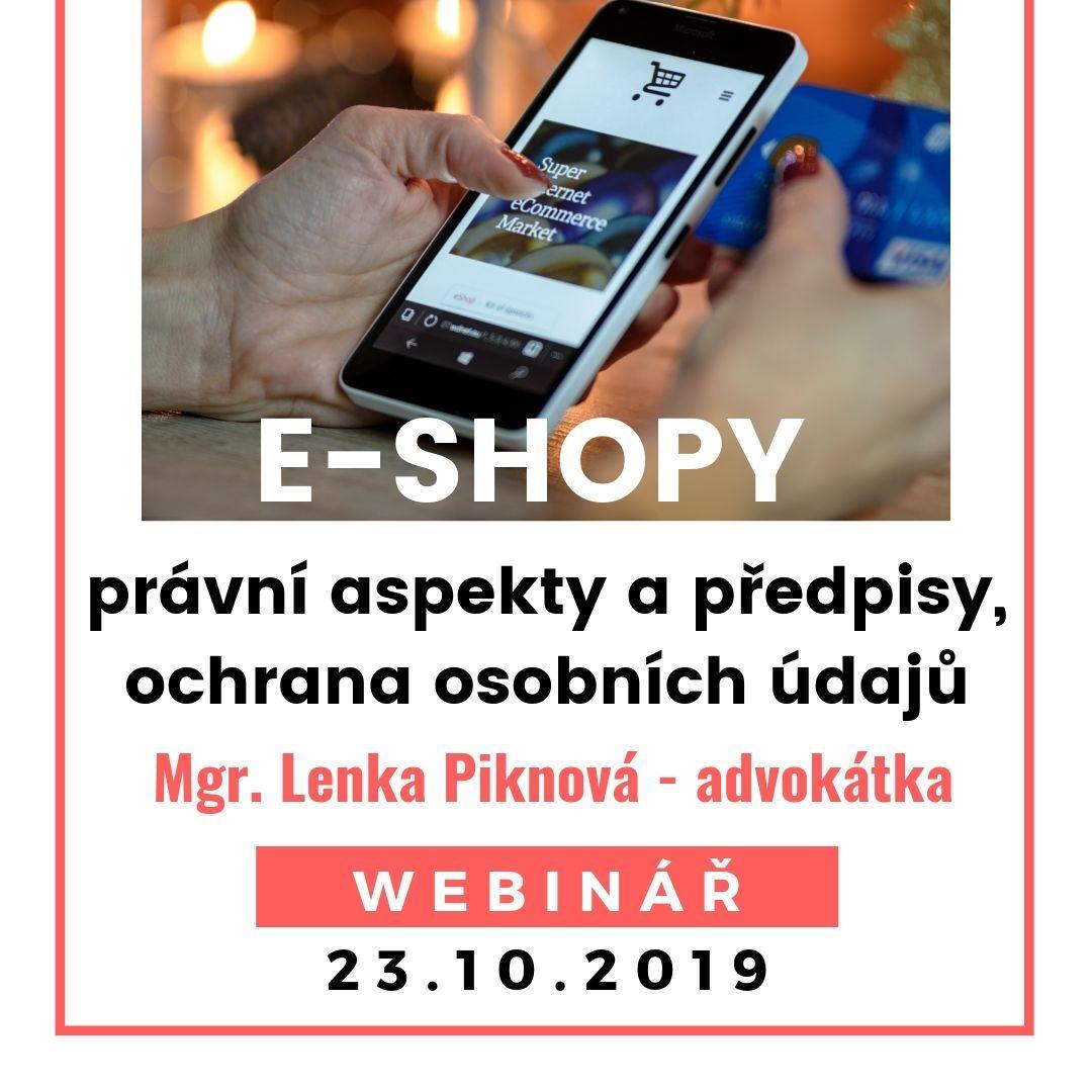 E-shopy právní rámec