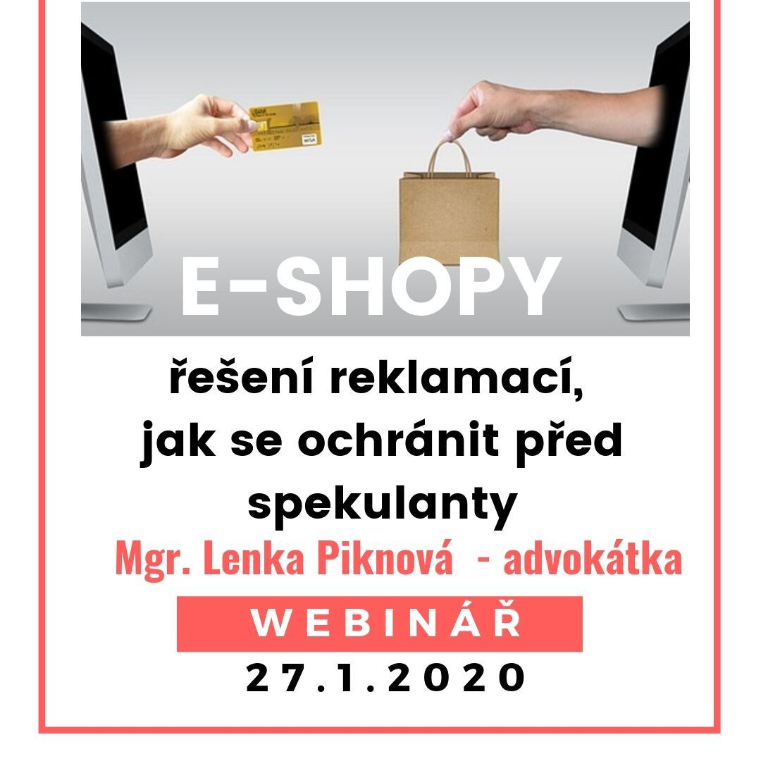 E-shopy, reklamace