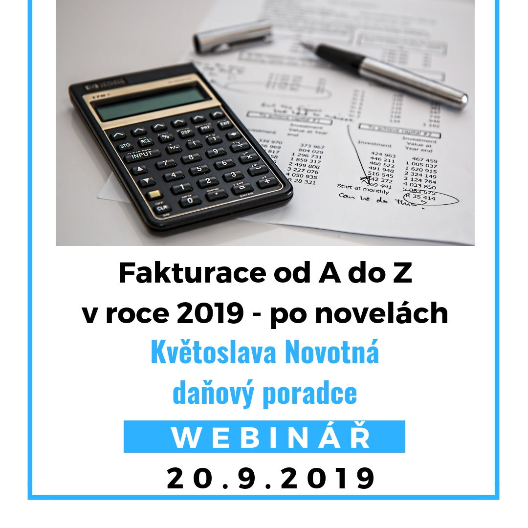 Fakturace od Ado Zvroce 2019