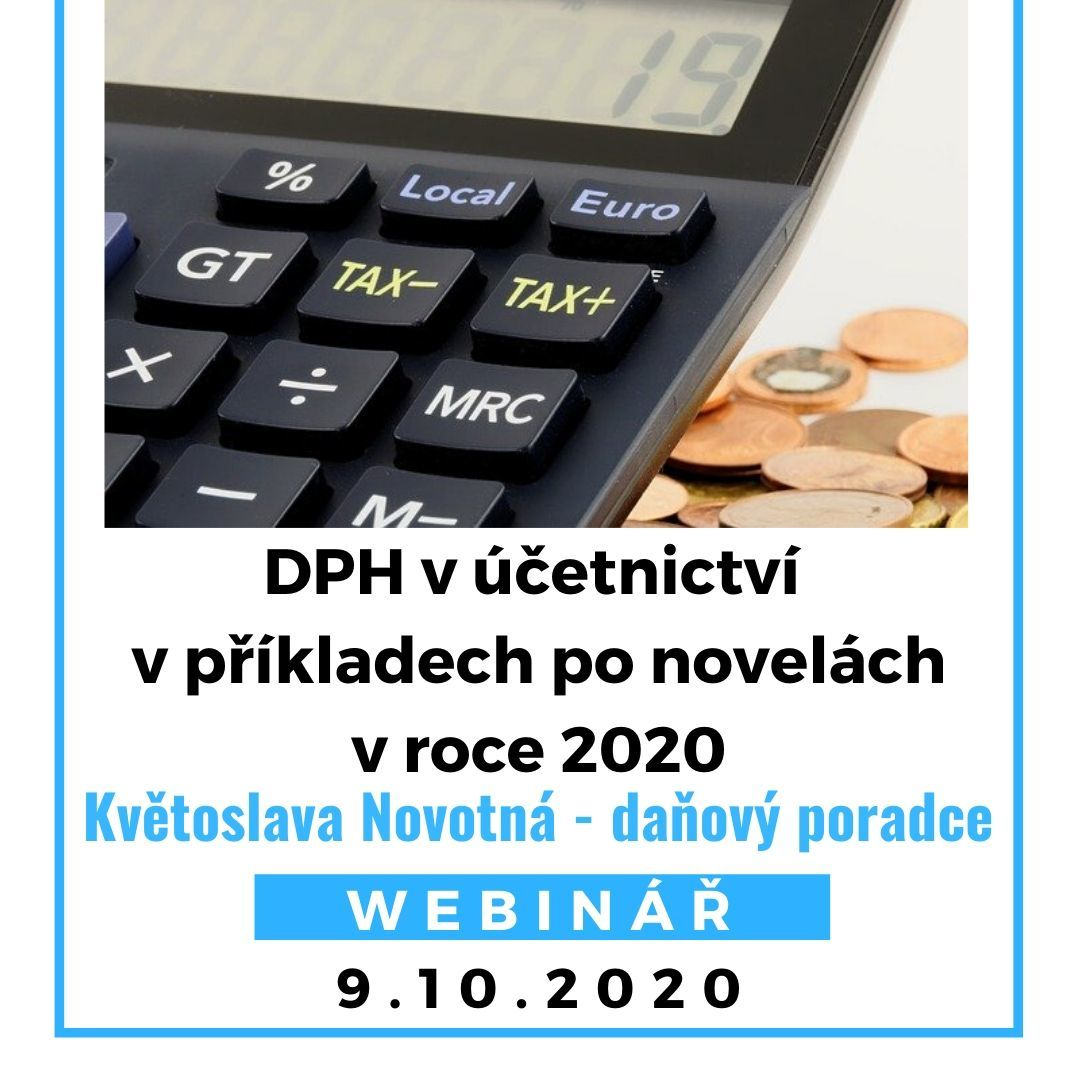 DPH vúčetnictví povpříkladech 2020novelách