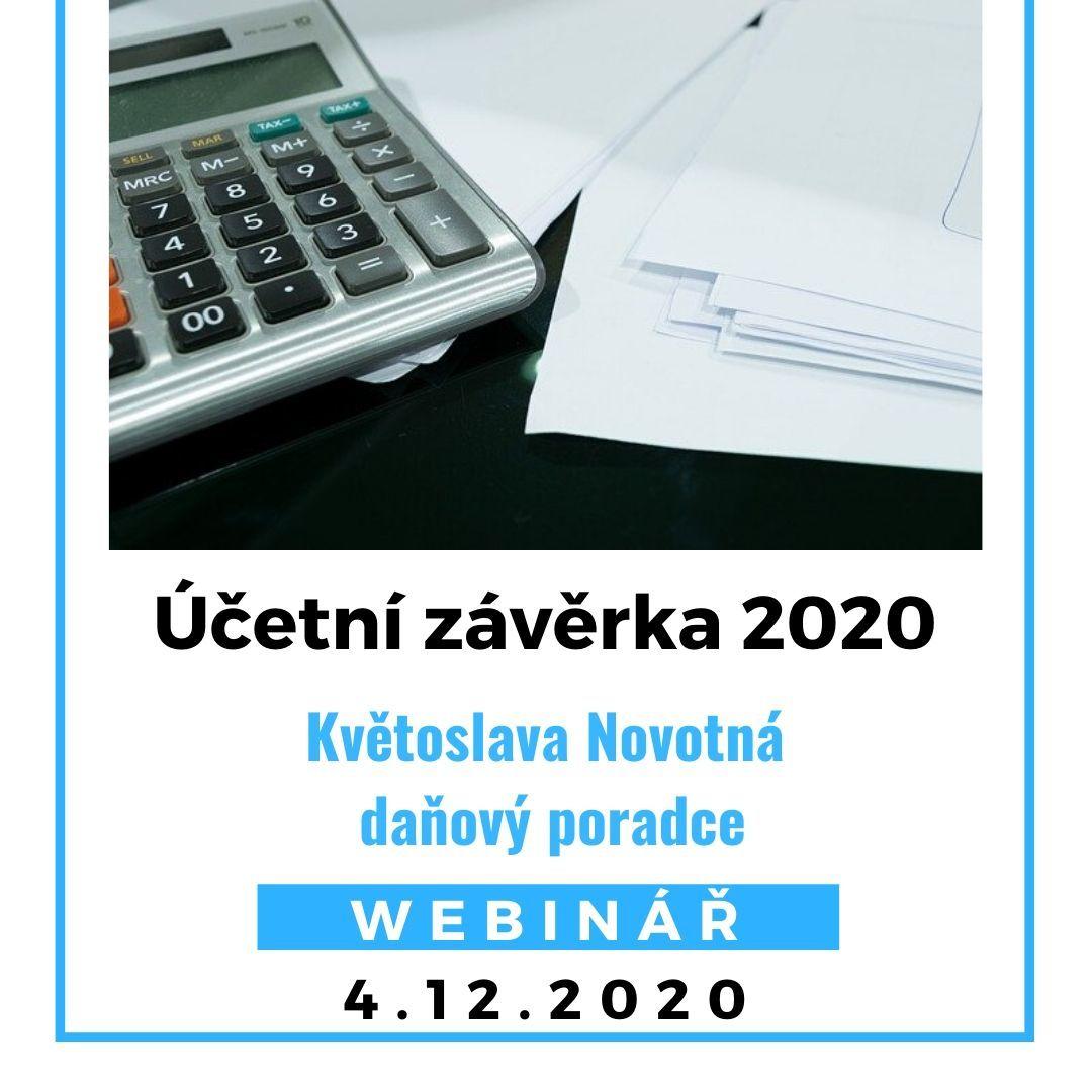 Účetní závěrka 2020